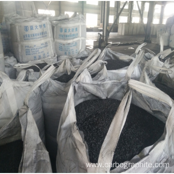 Graphite petroleum coke and low ash