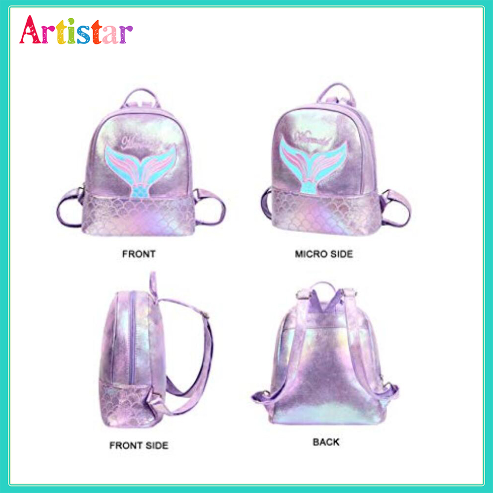 Mermaid Laser Backpack 12 1 2