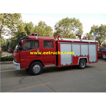 Dongfeng 2000 Gallons Fire Water Trucks