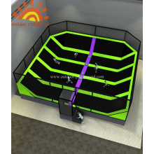 Stimulated Dodgeball Trampoline Area Playground