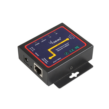 DIEWU Serial device server DB9 RJ45 to RS232 Ethernet To RS232 TCP/IP Server Module communication converter