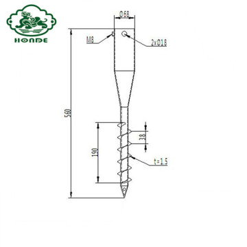 Good Quality Screw Ground Anchor