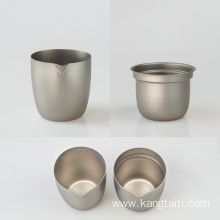 Portable Double Titanium Tea Set