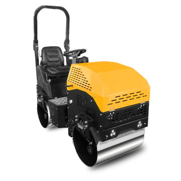 High quality vibration double drum road roller price