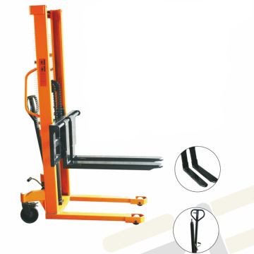 Manual pallet stacker 3 ton hydraulic forklift