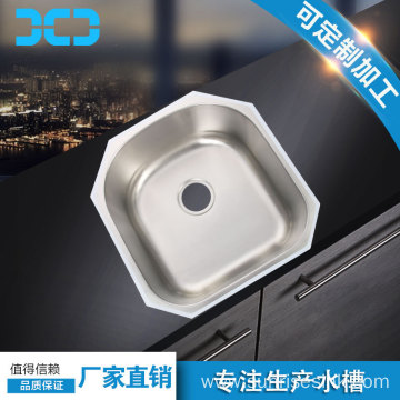 Undermount Stainless Steel Single bowl Pressed Sink