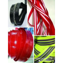 20MM Width Transparent Pattern Zipper Tape