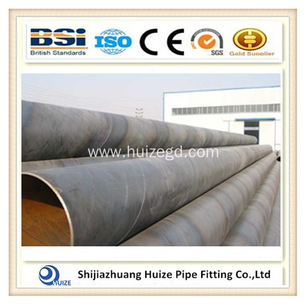 oil and gas black paint carbon welded steel pipe