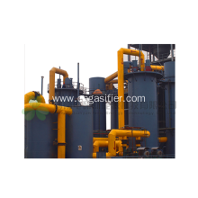 Factory Price Sludge Pyrolysis Generation Equipment
