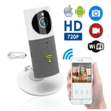 HD 720P Clever Dog Cleverdog Home Security WiFi CCTV IP Camera Baby Monitor Smart Home Security Camera Wide Angle 180