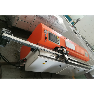 Insulated glass butyl coating machine for aluminum spacer