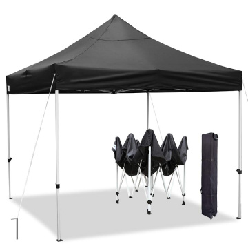 Cheap waterproof black folding gazebo for garden camping