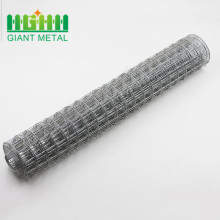 TUV certificated Italy galvanized welded wire mesh 5x7.5cm