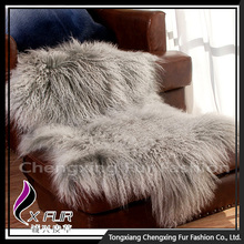 Customize Design Genuine Lamb Fur Fur Blanket