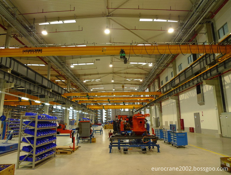 Single- girder overhead cranes