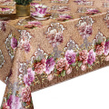 Non woven backing Tablecloth