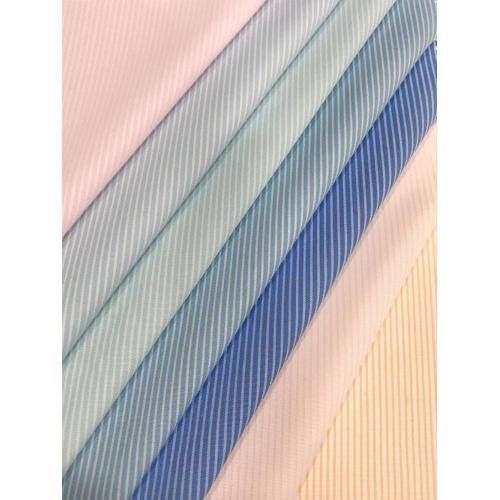 80%Superfine 20%Cotton Woven Stripe Dyed Fabric