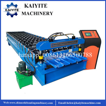 Tuff Rib Metal Roofing Roll Forming Machine