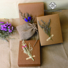 Kraft Paper Birthday Gift Box with Lid