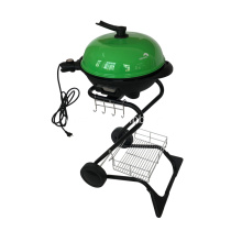 S Shape Electric Grill Barbecue In Green