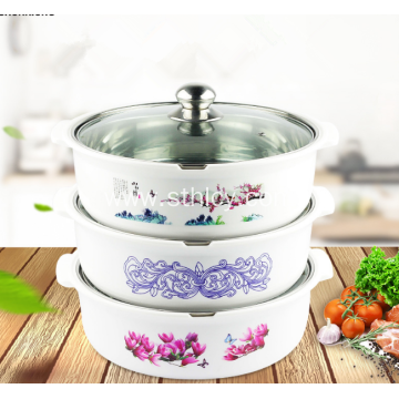 Exquisite Stainless Steel Anti-scald Hot Pot