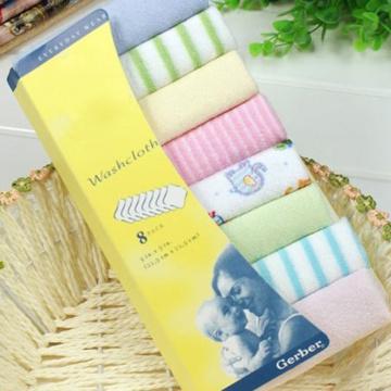 8pcs Baby Towels Scarf bath Towel Newborns Handkerchief Bathing Feeding Face Washcloth Wipe Feeding Wipe Soft Cloth Baby Care