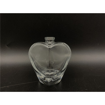 30ml glass bottle for heart shaped spray perfume