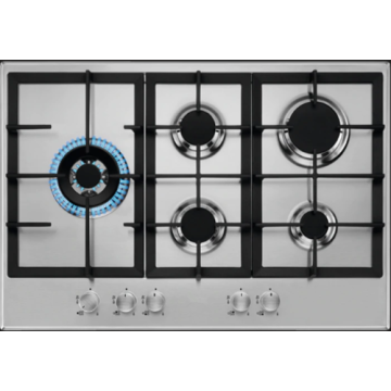AEG Gas Plate 5 Burner in Stainless