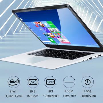 NEW 15.6 inch IPS intel J4115 Quad Core Notebook Computer 8GB DDR4 RAM 128GB 256GB 512GB SSD ROM Windows 10 Laptop Ultrabook