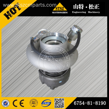 PC220-8 excavator turbocharger 6D107 engine 6754-81-8190