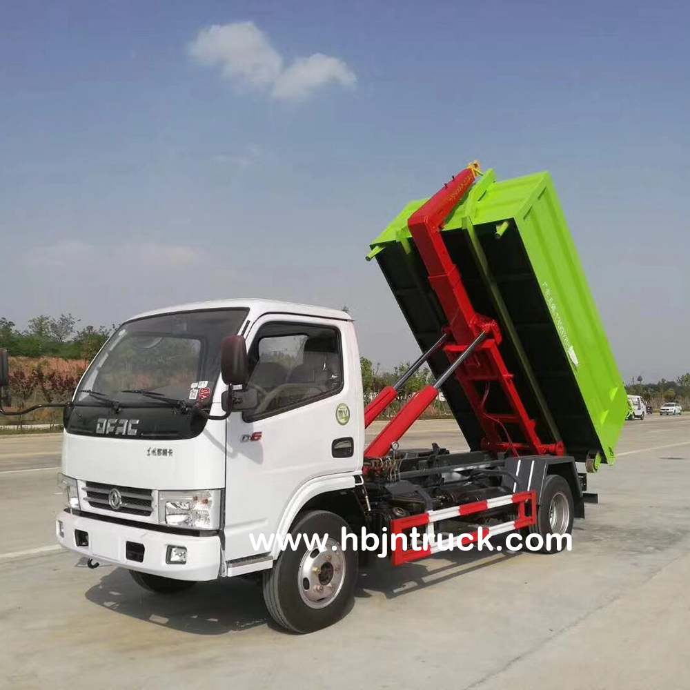 Dongfeng Hook Loader Garbage Truck