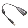 NOYOKERE Audio 5H V2 7.1 External USB Sound Card Audio Adapter USB To 3D CH Virtual Channel Sound Track for Laptop PC