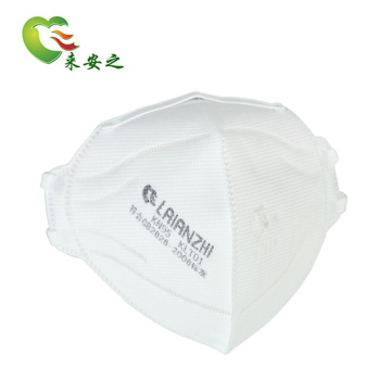 Factory Supplying New Design Kn95 Disposable Earloop Face Foldable Mask