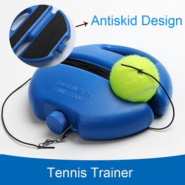 Tennis Trainer Training Primary Tool Exercise Tennis Ball Self-study Rebound Ball Tennis Racket Practice Tool Sports Accessories