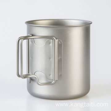 Titanium Cup Single Layer Cup