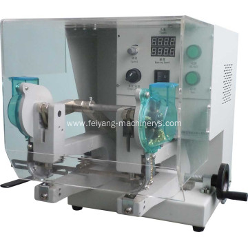 auto double head eyelet machine for paper bags