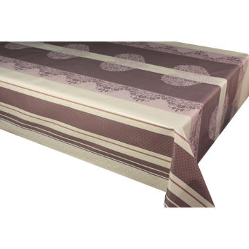 Pvc Printed fitted table covers Table Runner Small