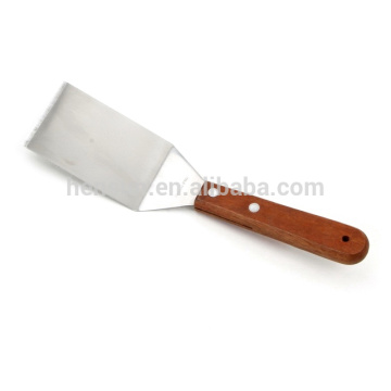 Wooden Handle Pizza Spatula Cake Sever Turner