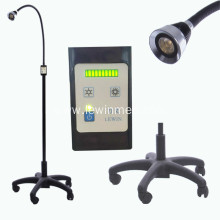 Mobile LED examination lamp