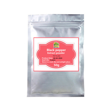 50-1000g,Best Function Black Pepper Extract Powder,Nature Piperine Powder,Hei Hu Jiao,Direct Factory Supply free shipping