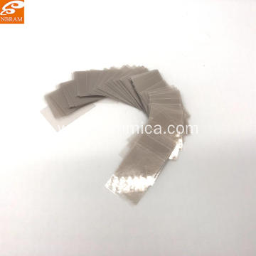 20*30*0.1mm Natural Transparent Mica Sheet