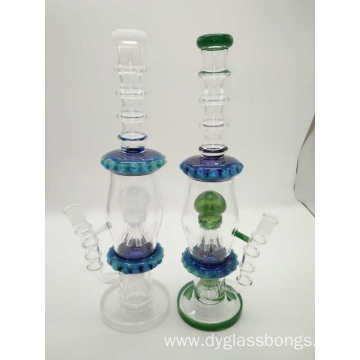 Fashionable design classic glass water pipe bongs