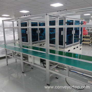 Automatic Belt Conveyor System Assembly Line