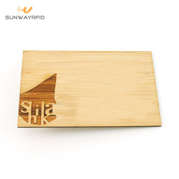 13.56Mhz RFID Wood Business Cards