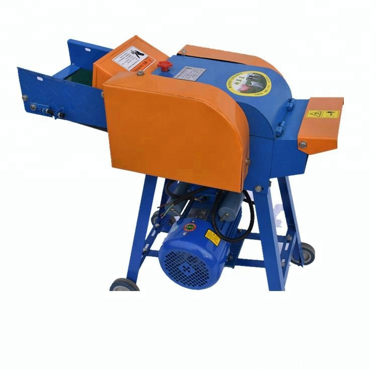 Animal Feed Wet And Hay Electronic Fodder Chopper
