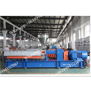Twin screw extruder underwater pelletizing machine line