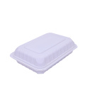 Biodegradable Plastic Takeaway Food Clamshell Box