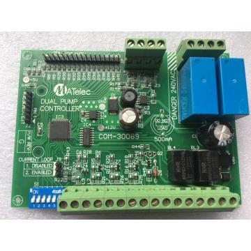 Pump water controller board