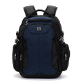 Leisure travel waterproof black Suisswin backpack