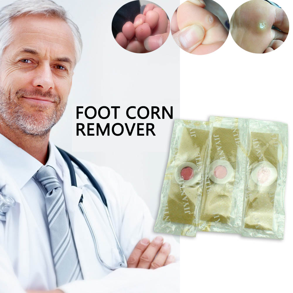 48pcs Foot Plaster Corn Removal Remover Warts Thorn Plaster Health Care For Relieving Pain Calluses Plaster Medical Plaster